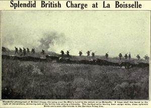 Splendid British Charge at La Boisselle
