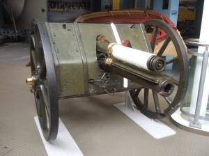 18 pound field gun at the Imperial War Museum