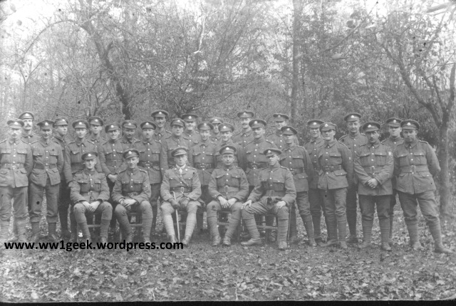7th ES, Nov 1917, C Coy, 9 Pl v1