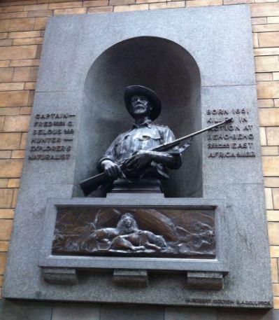Selous memorial