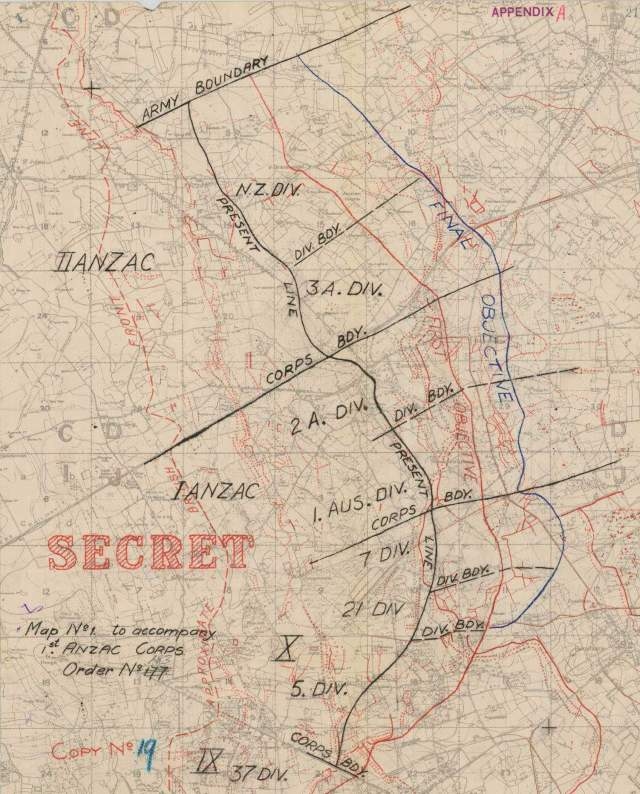 Ww1geek exploring the first world war plan of attack for the battle of broodseinde fandeluxe Images